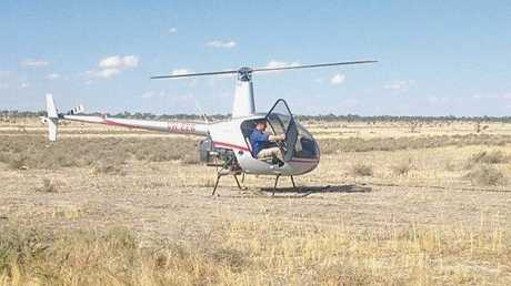 The McLeod family has invested in a helicopter to make mustering their vast properties more economical.