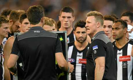 Nathan Buckley declared last season it was finals or bust his team in 2017.