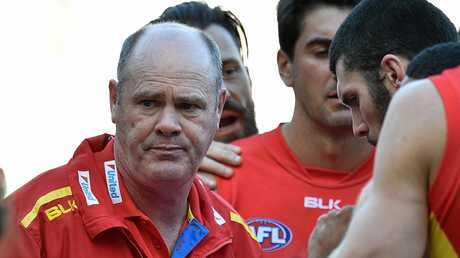 Rodney Eade is beginning to feel the heat as Suns coach.