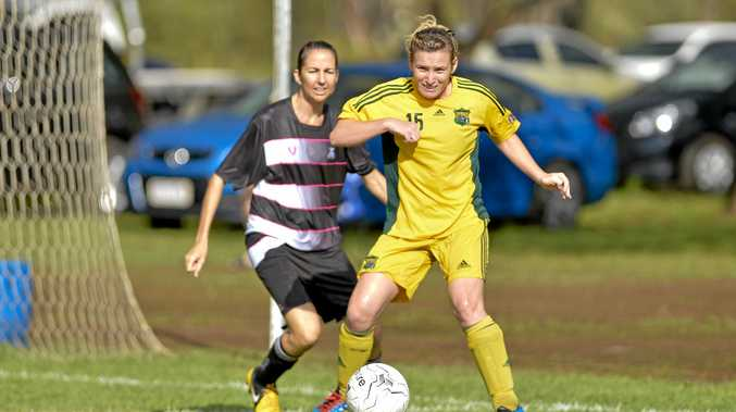 IT'S BACK: Soccer - men and women returns after almost a month of washouts
