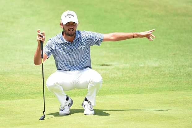 MASTERS TIPS: Australia's Curtis Luck is preparing for this first US Masters this week.