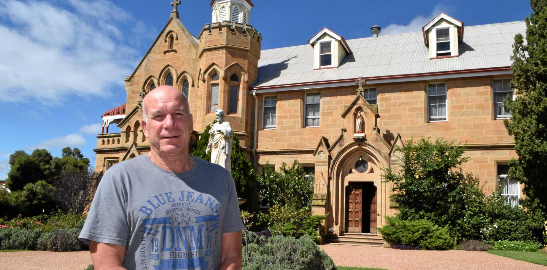 GRAND DESIGNS: Mark Cains has bought new life to Warwick's iconic Abbey of the Roses.