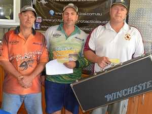 Shooting early on windy day pays off for winner Dan