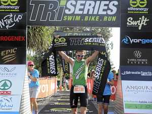 Wall warming up for new event at Yamba Triathlon Festival