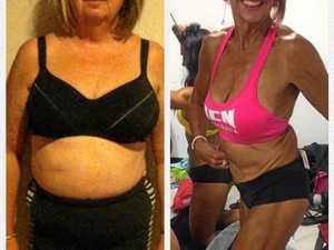 TRANSFORMED: 40kg overweight to 57yo body builder