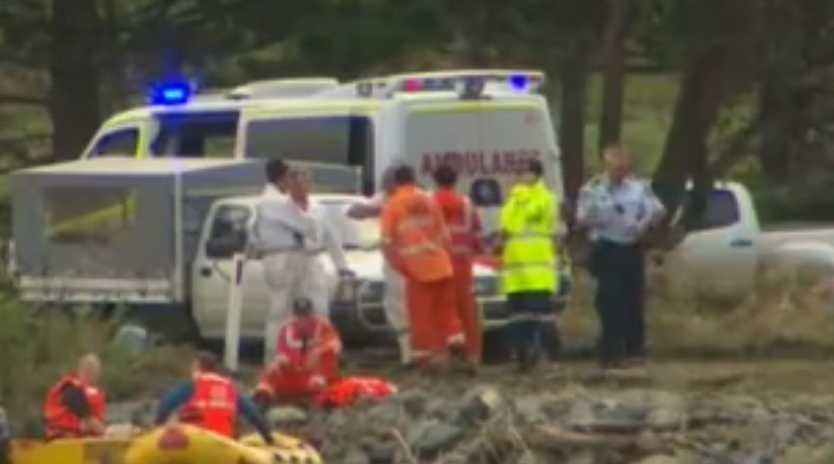 The search for three bodies at Dulguigan will continue on Tuesday.