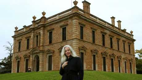 Anne-Louise Lambert at Martindale Hall in South Australia last year.