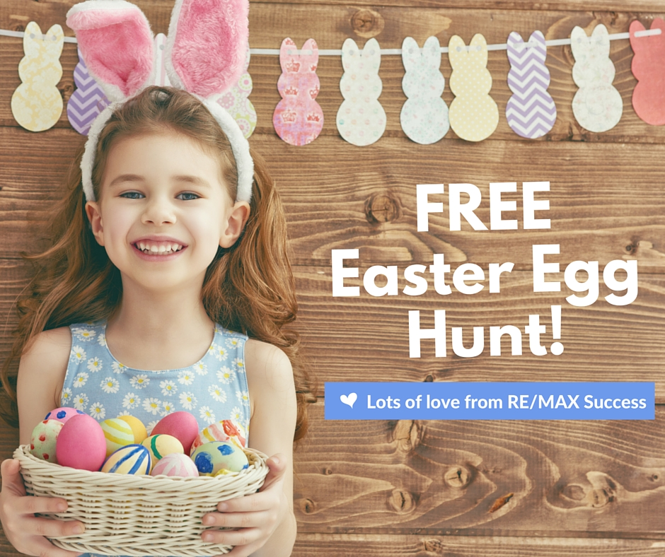 FREE Easter Egg Hunt in Queens Park on Sunday 9th April from 9am to 12 noon, meeting on the corner of Margaret & Lindsay Streets