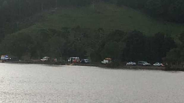 Police search flood-hit river near Tumbulgum for sunken auto