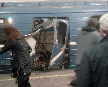 Russia's National Anti-Terrorist Committee said that the explosions hit a train between Sennaya Ploshchad and Tekhnologichesky Institut stations, media added. An anti-terror investigation is underway.