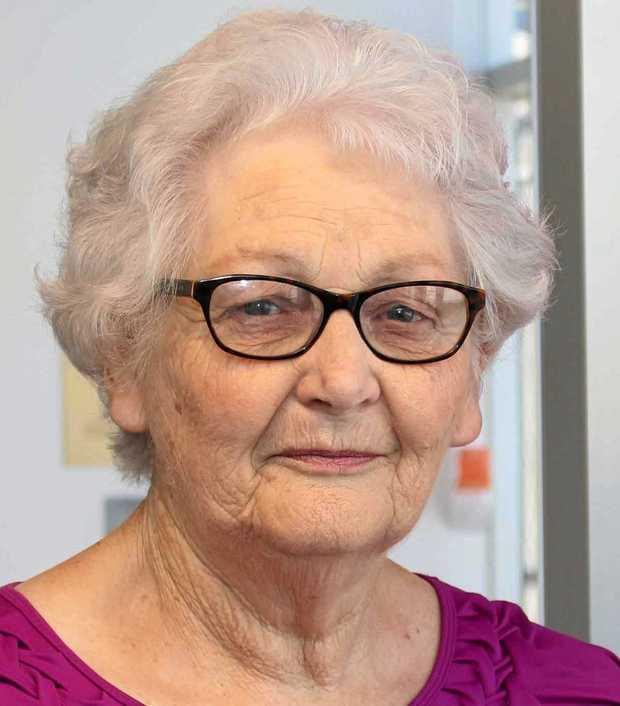 Toowoomba resident and BreastScreen volunteer Shirley Meehan.