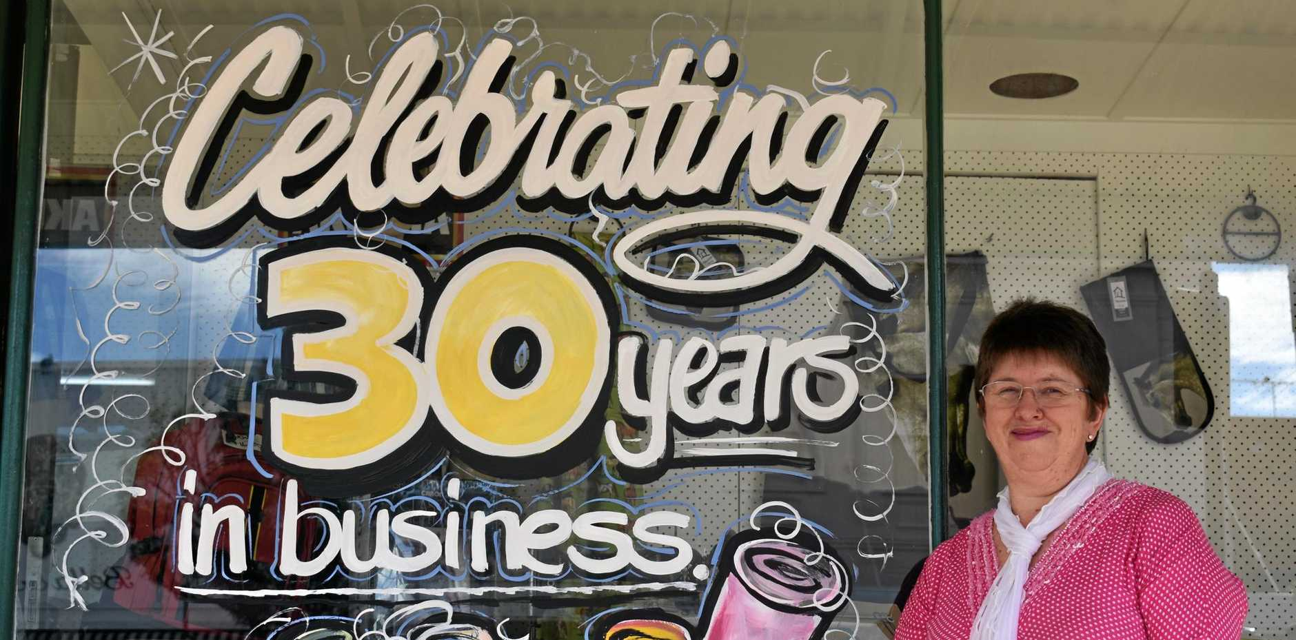 30TH BIRTHDAY: Owner of Wendy's on Cunningham, Wendy Jiggens, is celebrating 30 years in business.