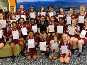 North Rockhampton High School students discover the power of writing