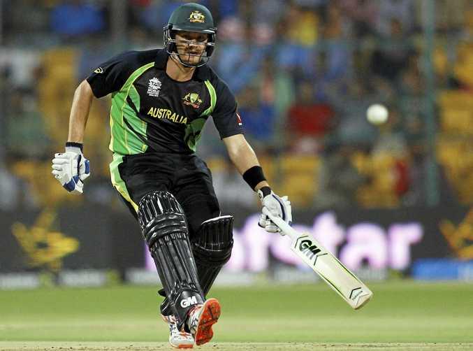 Shane Watson playing for Australia in the ICC World Twenty20 in 2016.