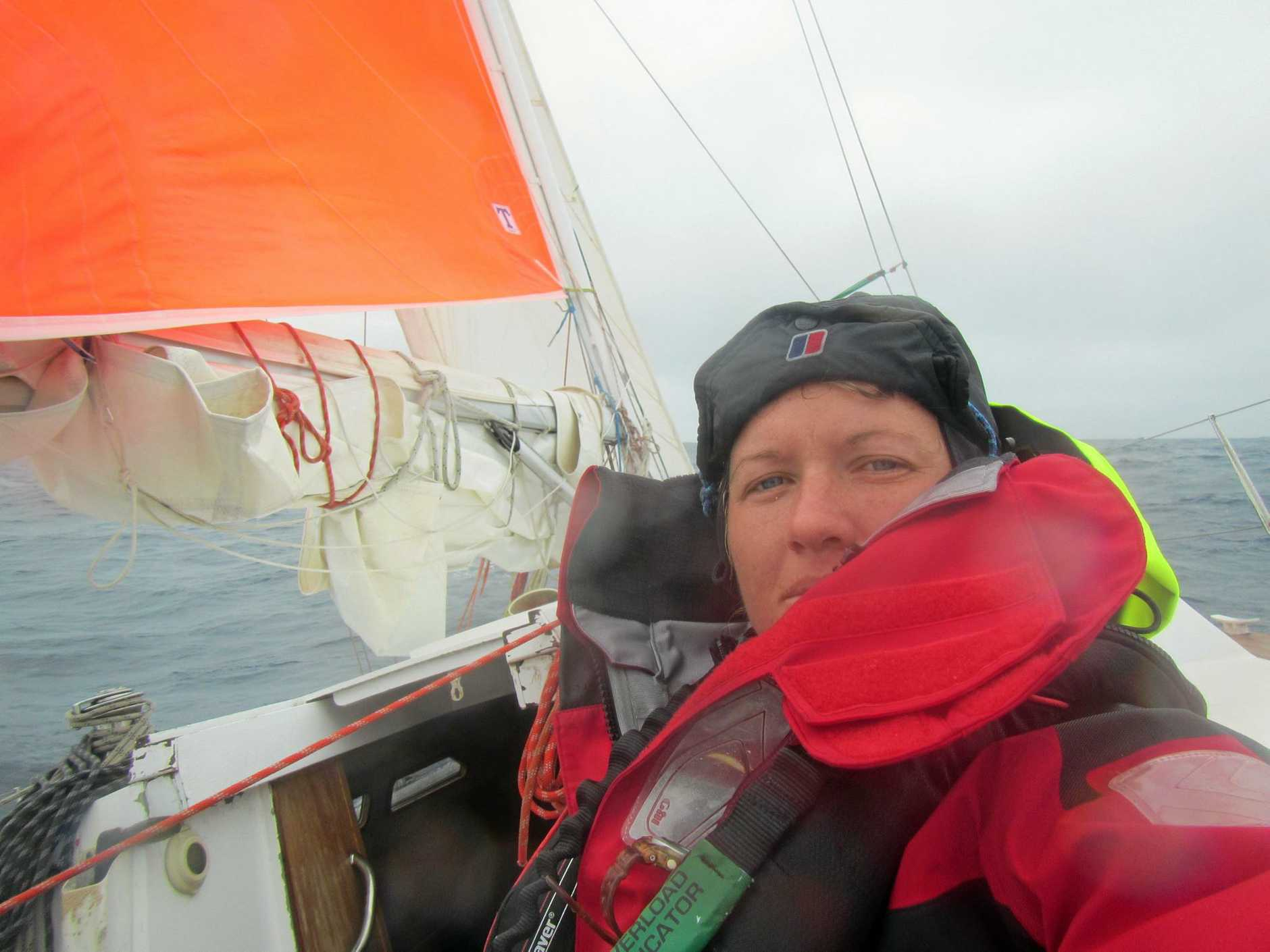 Former Sunshine Coast sailor Lisa Blair is attempting to become the first woman to circumnavigate Antarctica.