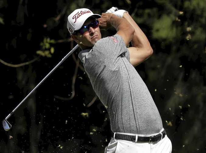 Australian Adam Scott is chasing his second US Masters title.