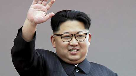 FILE - In this May 10, 2016, file photo, North Korean leader Kim Jong Un waves at parade participants at the Kim Il Sung Square in Pyongyang, North Korea. North Korea has conducted a ground test of a new type of high-thrust rocket engine that leader Kim Jong Un is calling a revolutionary breakthrough for the country's space program. (AP Photo/Wong Maye-E, File)