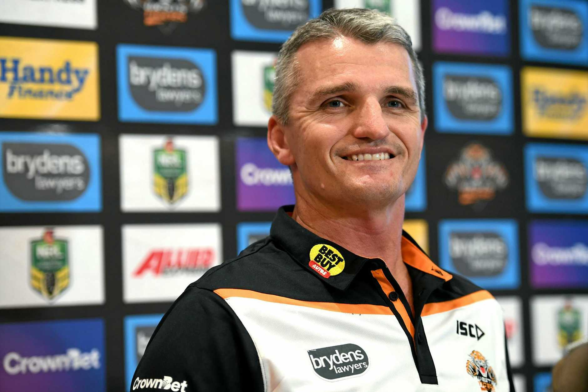 New Wests Tigers NRL coach Ivan Cleary.