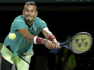 Kyrgios credits Davis Cup teammates for his red-hot form