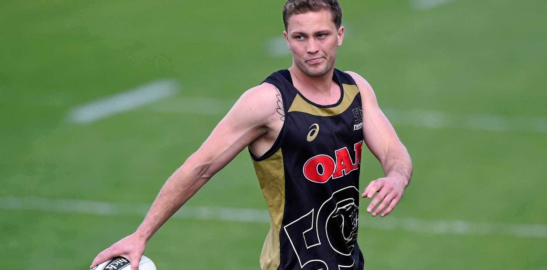 Penrith Panthers skipper Matt Moylan.