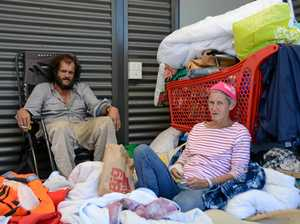 In shadow of booming CBD, this couple lives in poverty