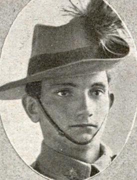 HERO: Freestone soldier Walter Smale was killed in battle.
