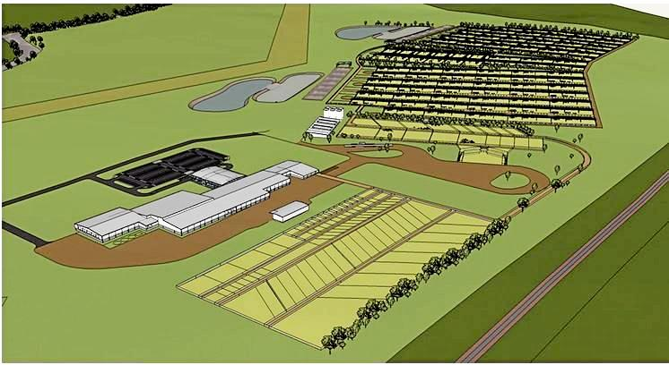 POTENTIAL: An artist's impression of the facility in Gladstone.