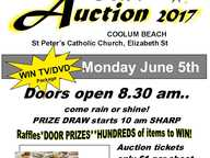 St Vincent De Paul Annual Giant Cent Auction - Thousands of dollars worth of prizes on offer. Bring friends - hundreds of prizes!