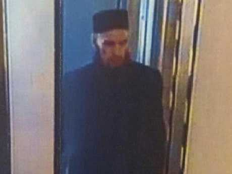 Russian media has released CCTV images of the blast suspect.