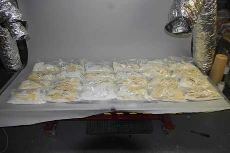 Police seized Australia's largest haul of methamphetamine to date, with the seizure of almost 903 kilograms of the drug in April 2017.
