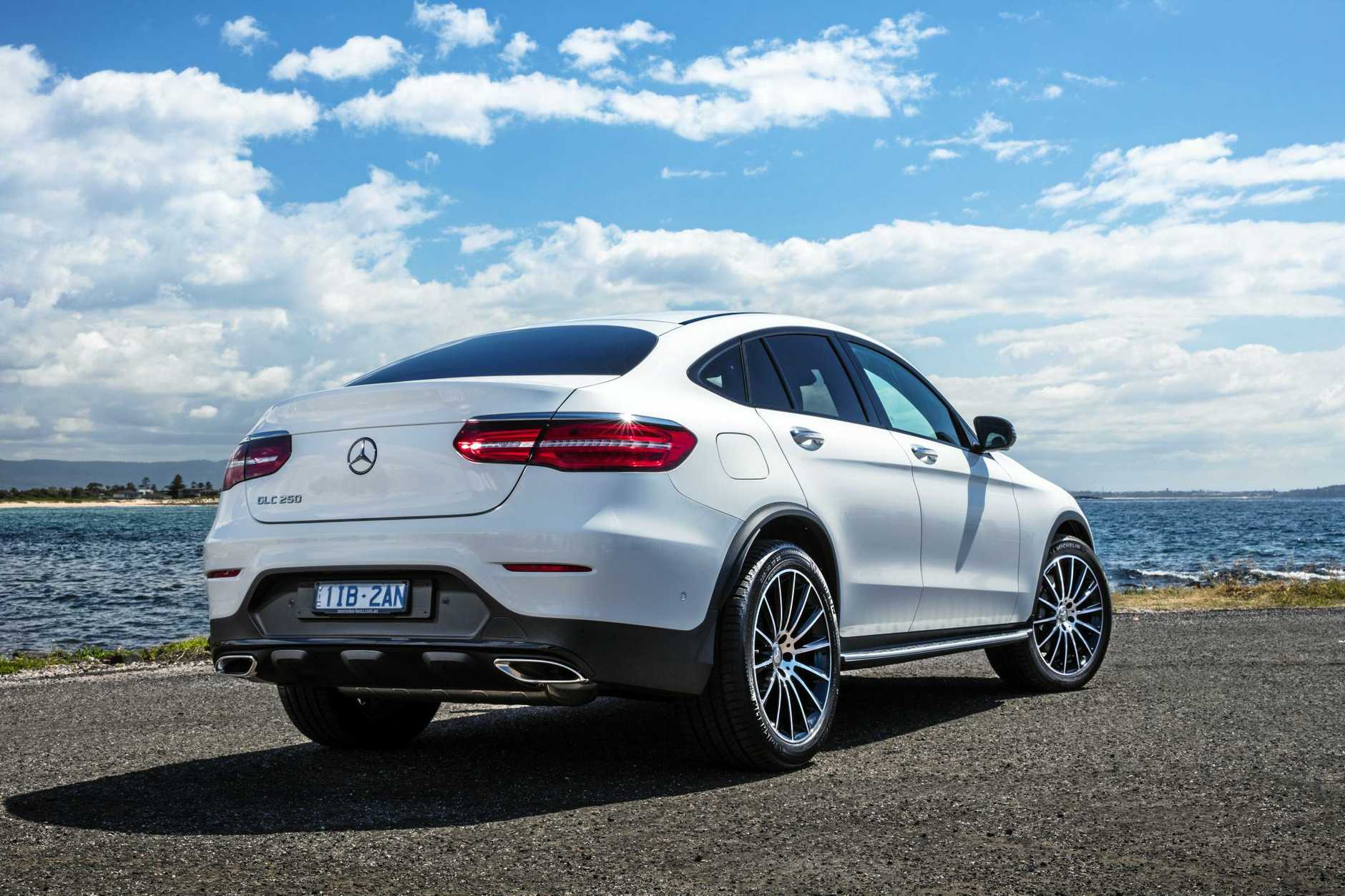 JUNK IN THE TRUNK: Mercedes-Benz has released the GLC Coupe, which blends sports car with SUV.