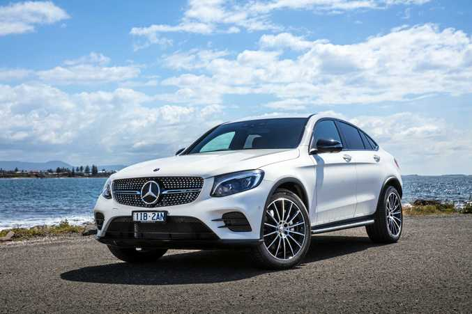 Mercedes-Benz has released the GLC Coupe.