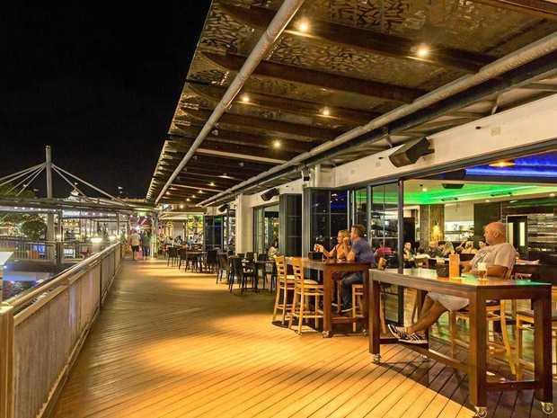 Riverside Sports Bar & Restaurant, at Sunshine Plaza, is now for sale.