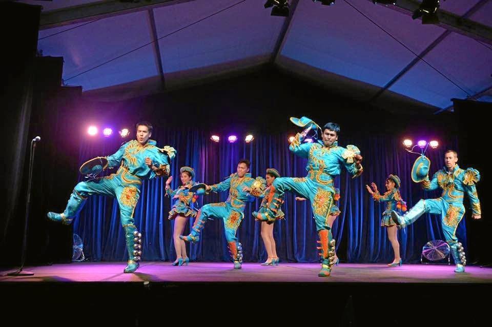 Bolivia Marka Dance Group performance at Ocean Street World Festival 2016.