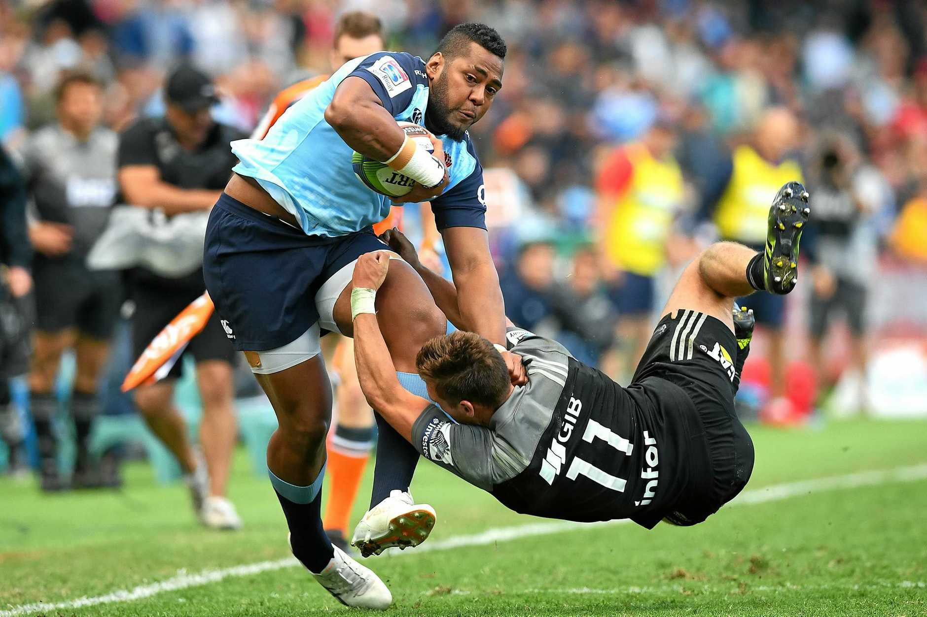 Taqele Naiyaravoro has been in impressive for for the Waratahs.