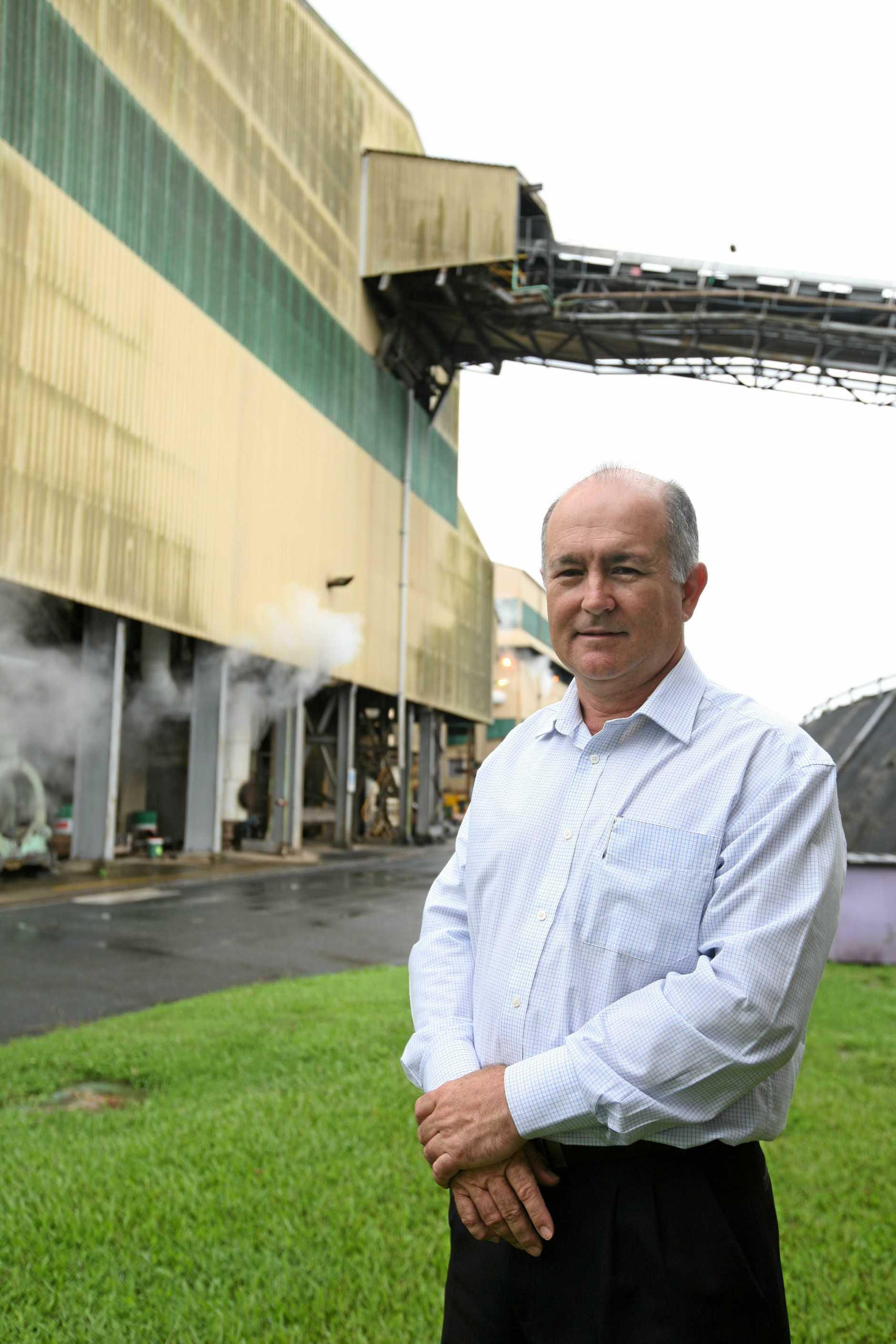 Mackay Sugar chairman Andrew Cappello.