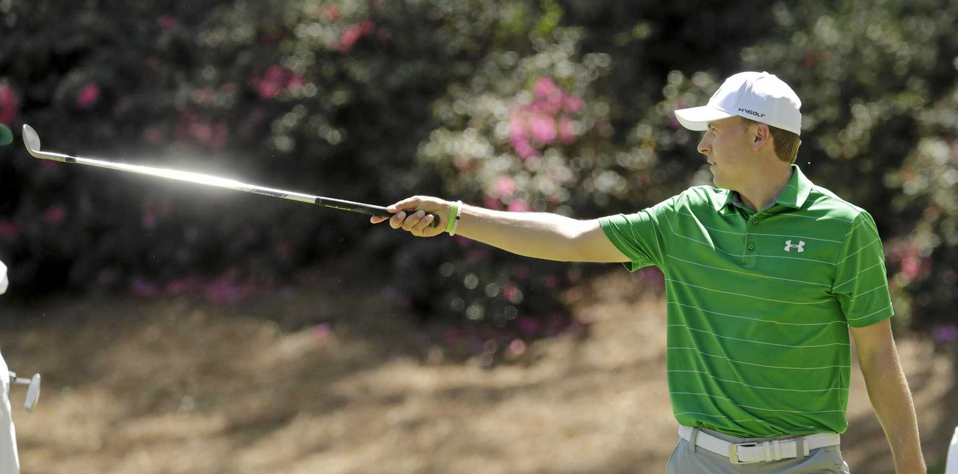 Jordan Spieth is ready for redemption at the Masters.