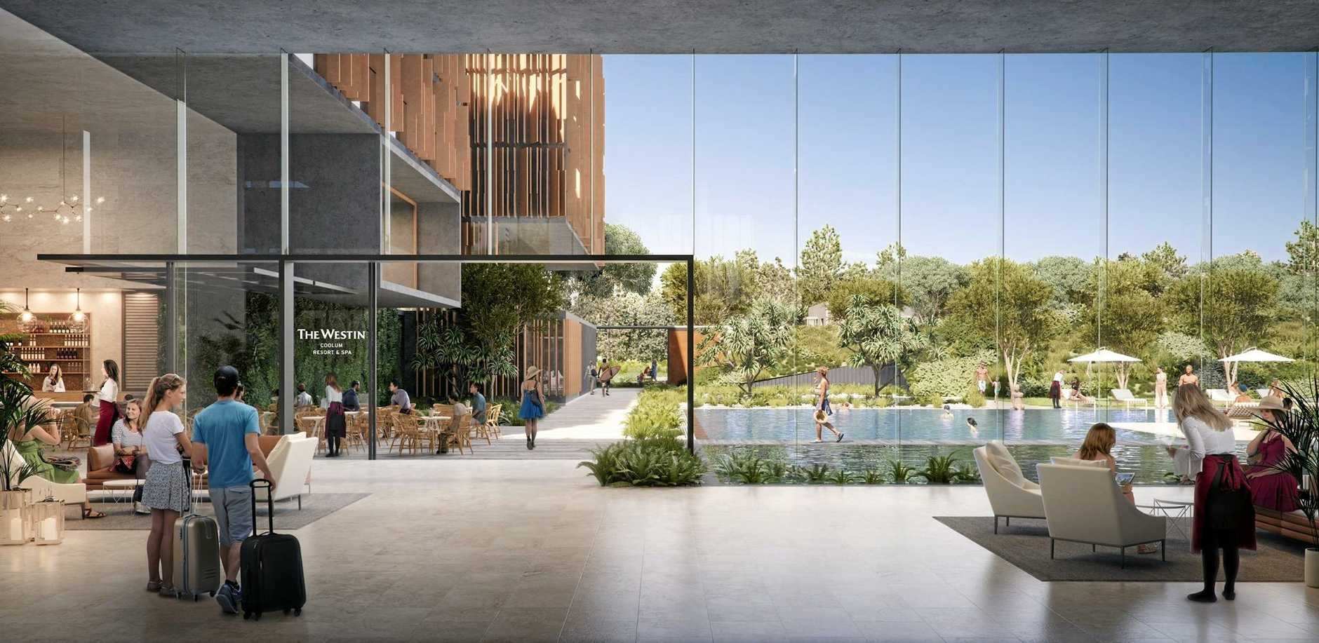 PLANS: Sekisui House plans to partner with Westin for a five-star resort at Yaroomba.