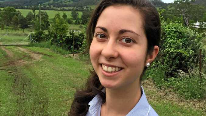 TOP HONOUR: USC Chancellor's Medallist Sophie Goulis of Widgee.