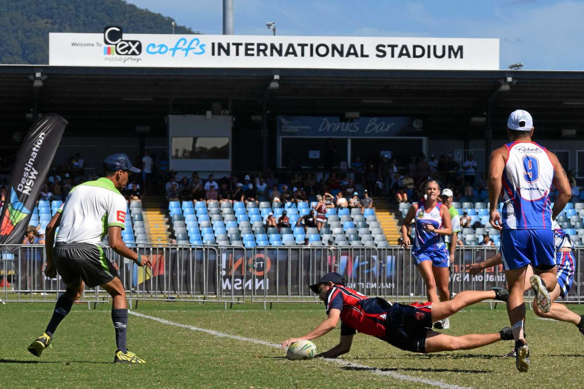 C.ex Coffs International Stadium is set for an upgrade.
