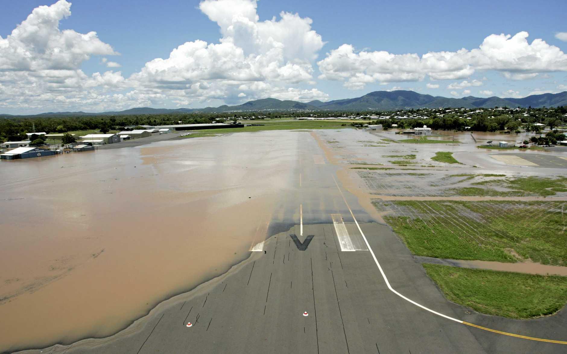 PHOTO FROM 2011: Rockhampton airport