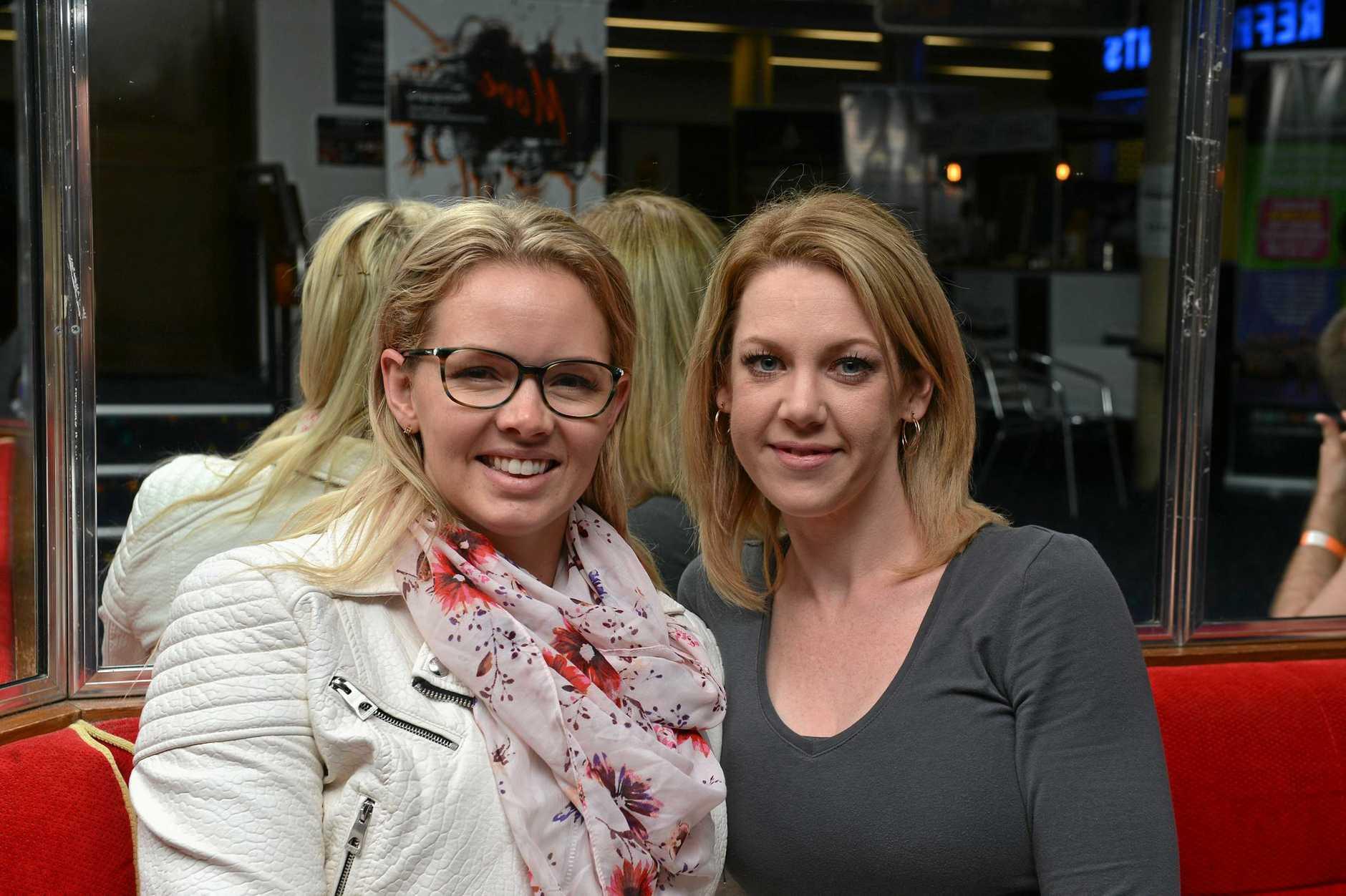 PREVIOUS DANCERS: Dance teachers Peta Jacobsen and Katie Griffiths return to the Bundaberg festival of Dance at the Moncrief Theatre.