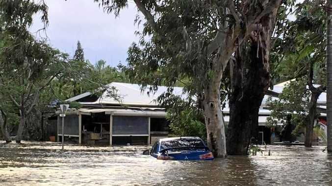 UN-YUMMY: The water level rose quickly around the Yum Yum Tree Cafe at New Brighton. Other areas in the shire such as Billinudgel, The Pocket, Main Arm, South Golden Beach, Mullumbimby and low lying areas of Ocean Shores and Brunswick Headswere also hit hard.