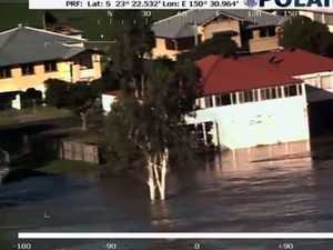 Amazing police footage zeroes in on flooded Rocky homes