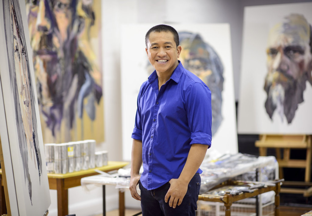 Anh Do returns in season two of the TV series Anh Do's Brush With Fame.