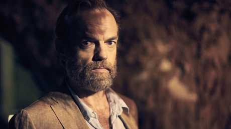 Hugo Weaving in a scene from the TV series Seven Types of Ambiguity.