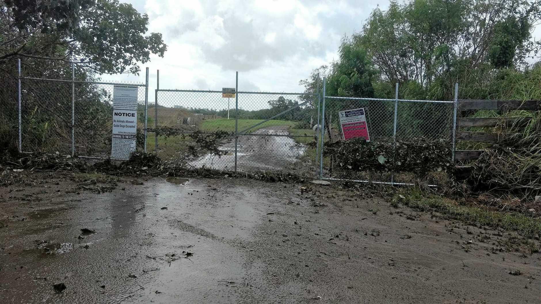The entrance to Mackay Junior Motocross.