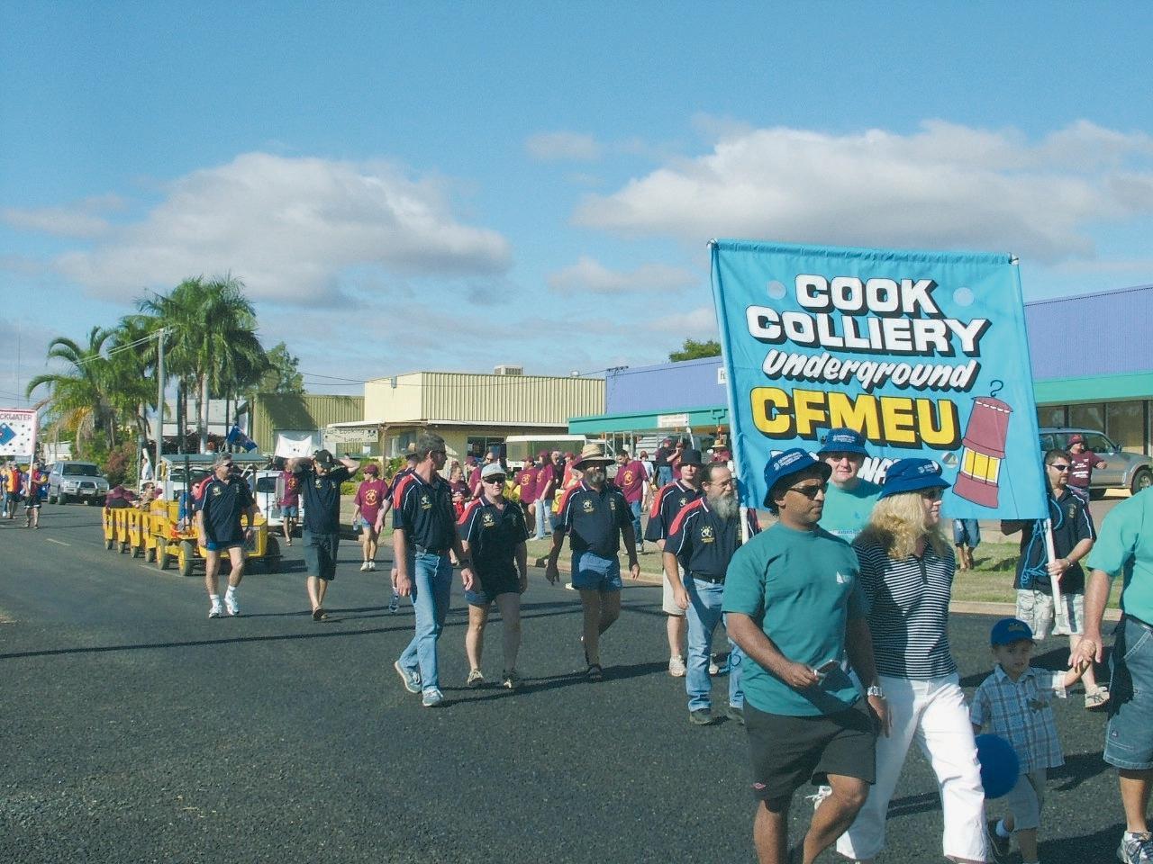 Cook Colliery CFMEU