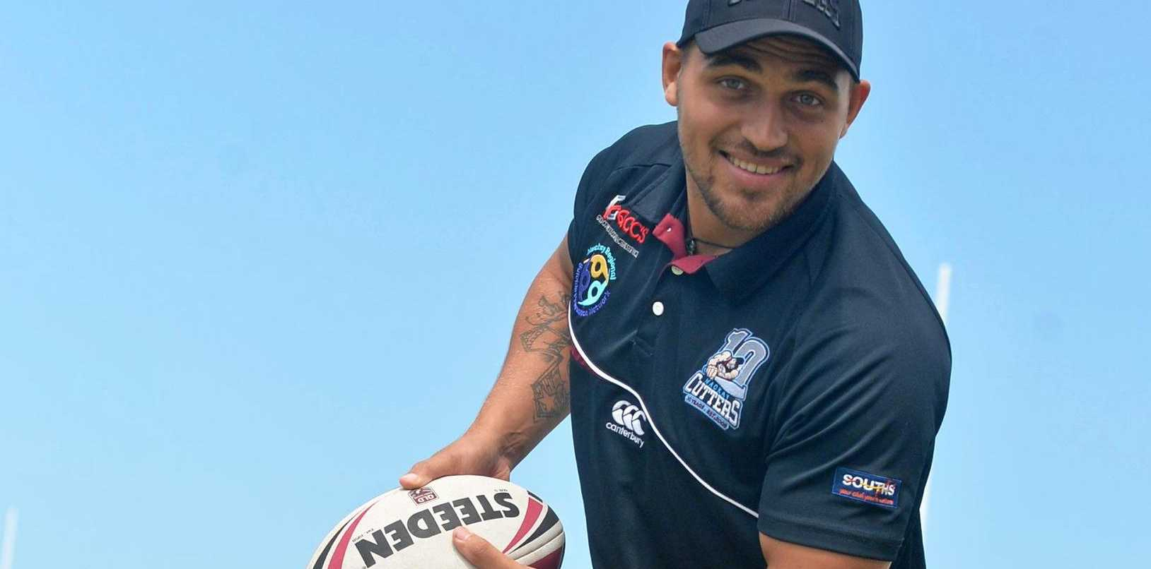 QCCS Mackay Cutters' new player, former NZ Warriors junior and NSW Cup player Kouma Samson, is looking forward to his first game on Saturday.