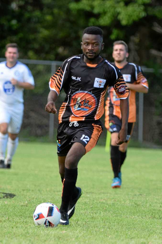 The Coffs Coast Tigers striker Innocent David is hoping his team will play their first match of the North Coast Football season tonight against Urunga.